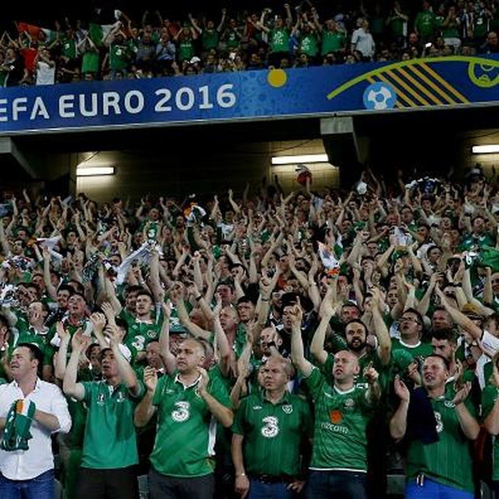 Jatah Tiket Suporter Dibedakan dengan Prancis, Irlandia Keberatan