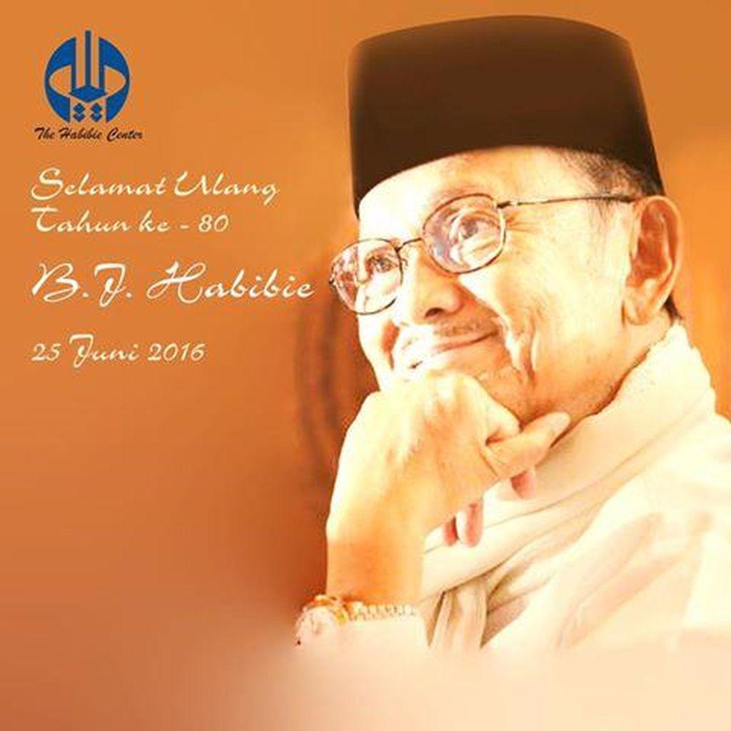 Selamat Ulang Tahun ke-80 Pak Habibie!