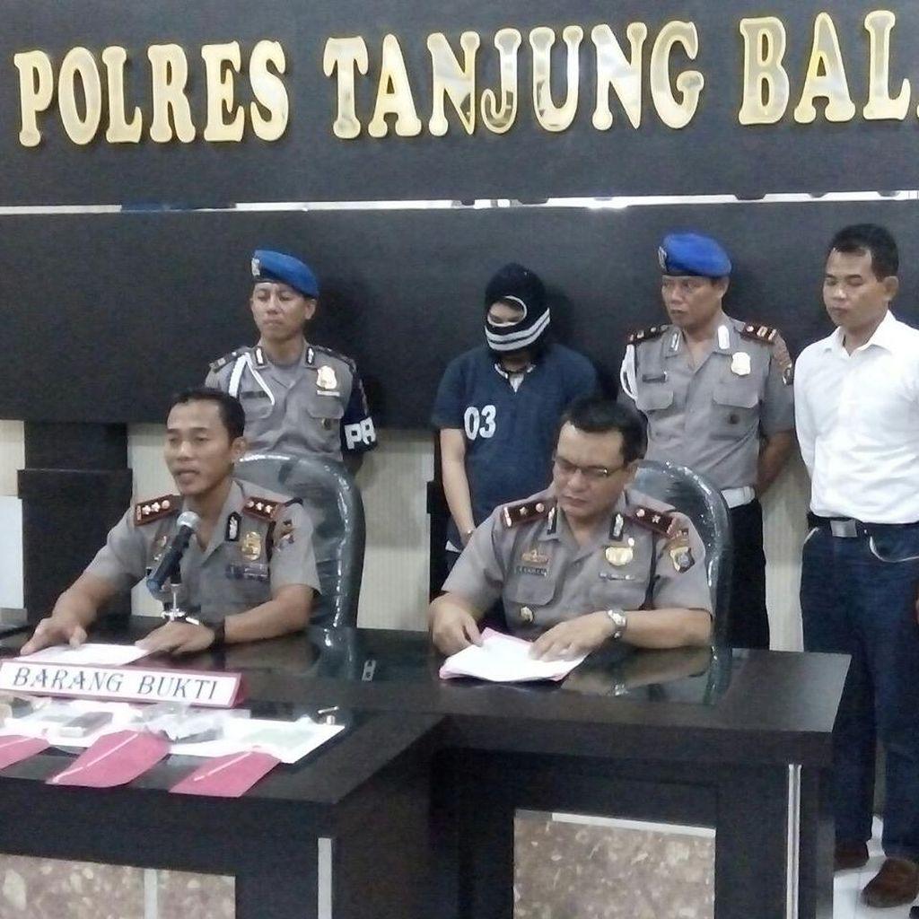 Polisi Bekuk Pengedar Narkoba Bersenpi di Tanjung Balai, Sumut