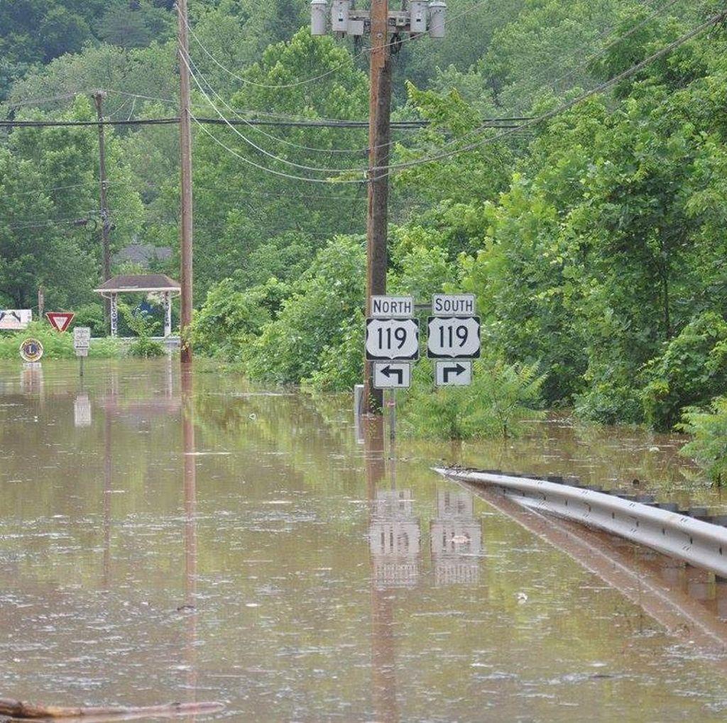 20 Orang Tewas Akibat Banjir di West Virginia AS