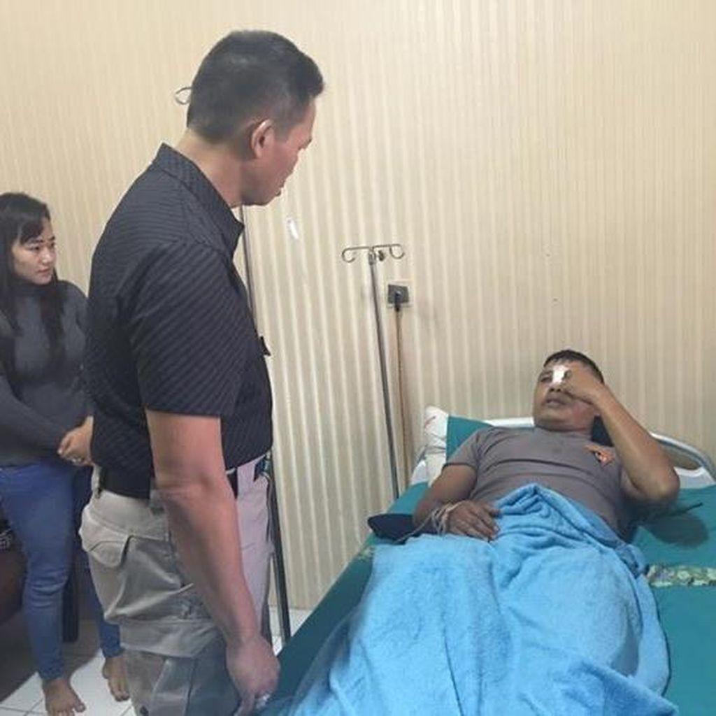 Brigadir Hanafi Dikeroyok Jakmania Saat Berjaga Sendirian di Pintu VII GBK