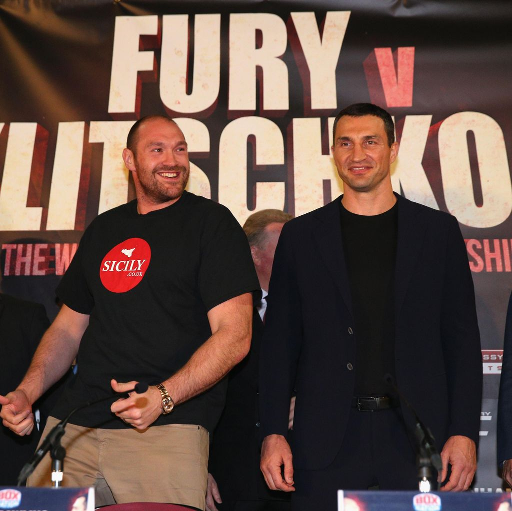 Rematch Tyson Fury vs Wladimir Klitschko Ditunda