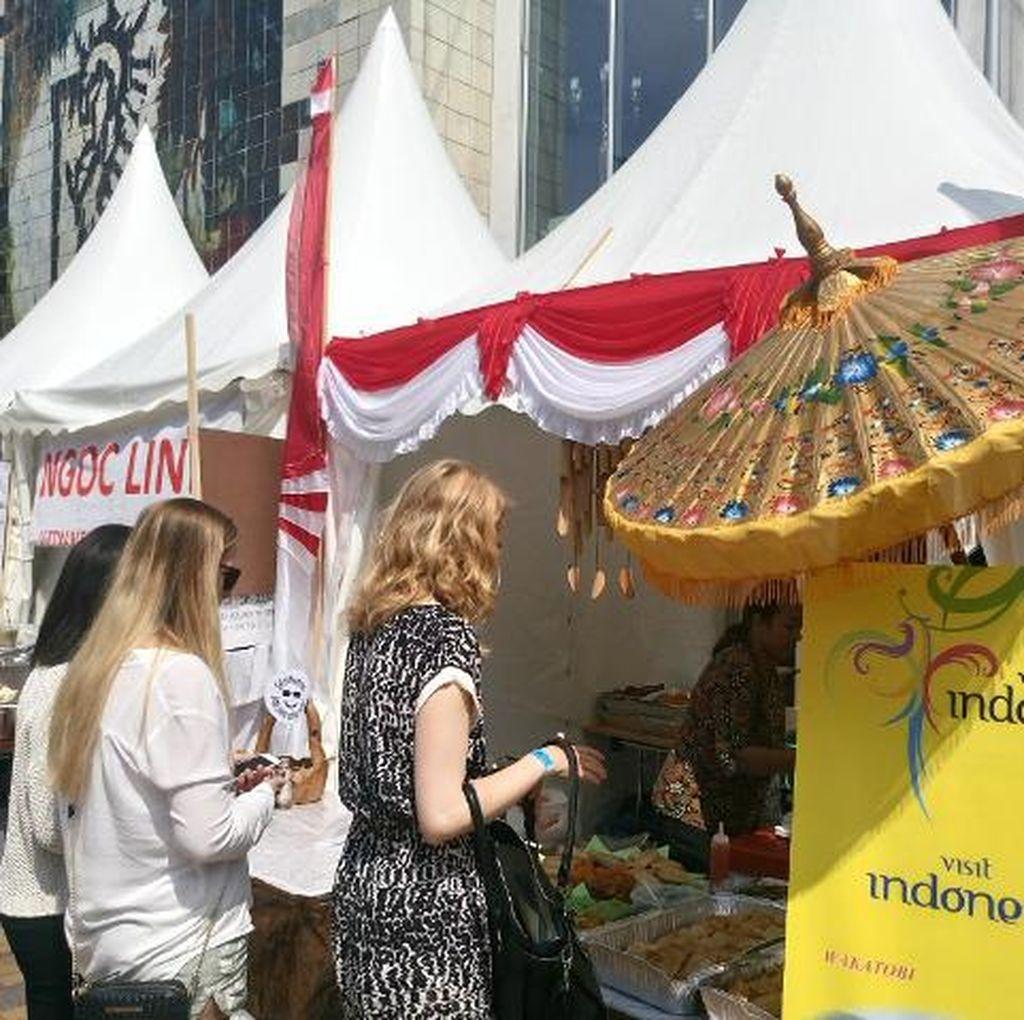 Martabak dan Kopi Indonesia Memikat Pengunjung Festival Budaya Asia di Denmark