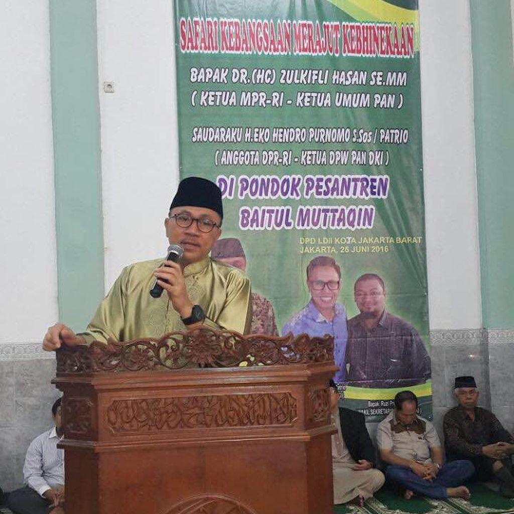 Ketua MPR Safari Ramadan ke Pesantren LDII di Jakarta Barat