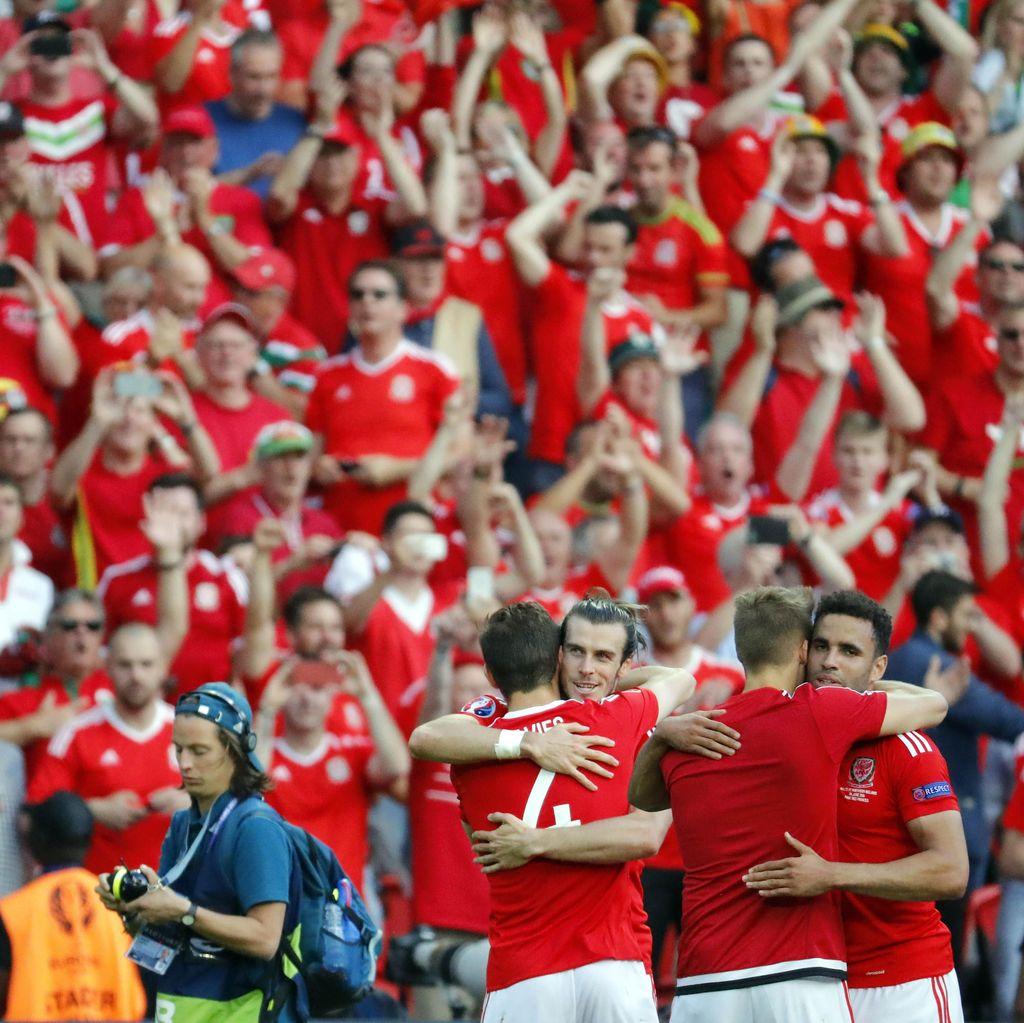 Tak Masalah Tampil Buruk, yang Penting Wales ke Perempatfinal