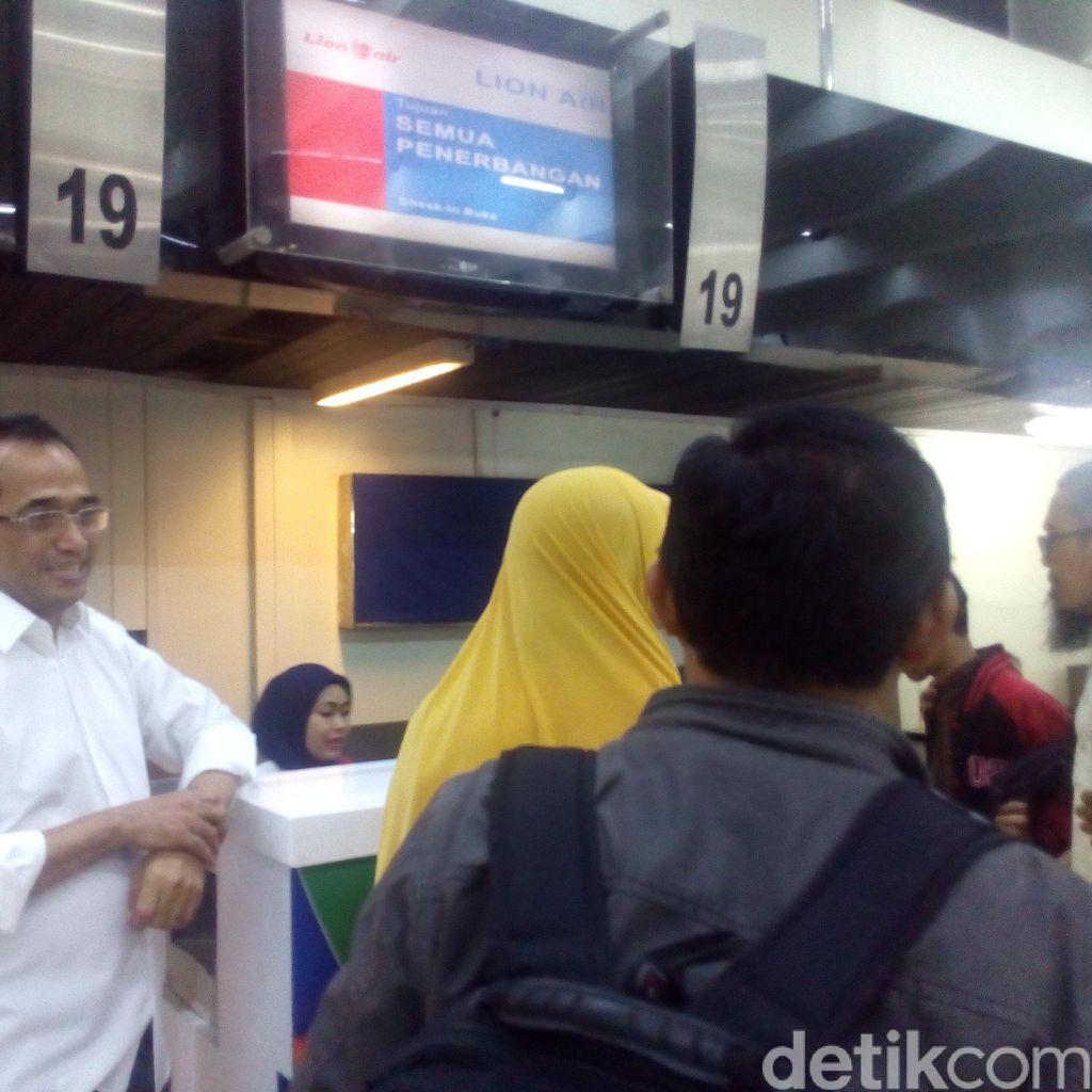 H-10, Penumpang di Bandara Soekarno-Hatta Mulai Melonjak