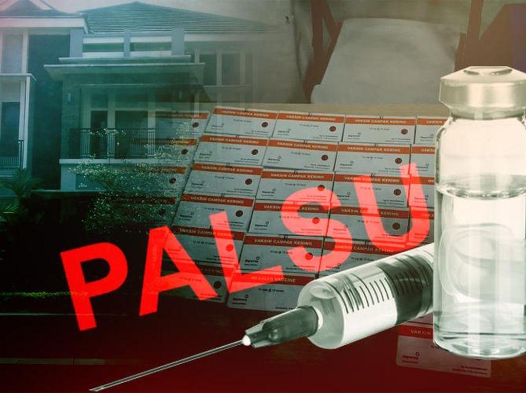 Mengapa 13 Tahun Vaksin Palsu Beredar Tidak Ketahuan? Ini Penjelasan Polisi