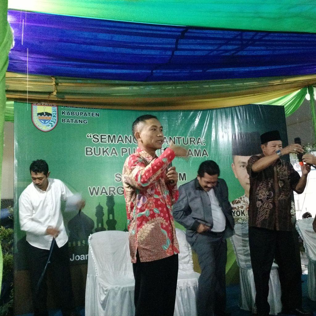 Bupati Batang Gelar Buka Bersama Warga Perantau di Jakarta