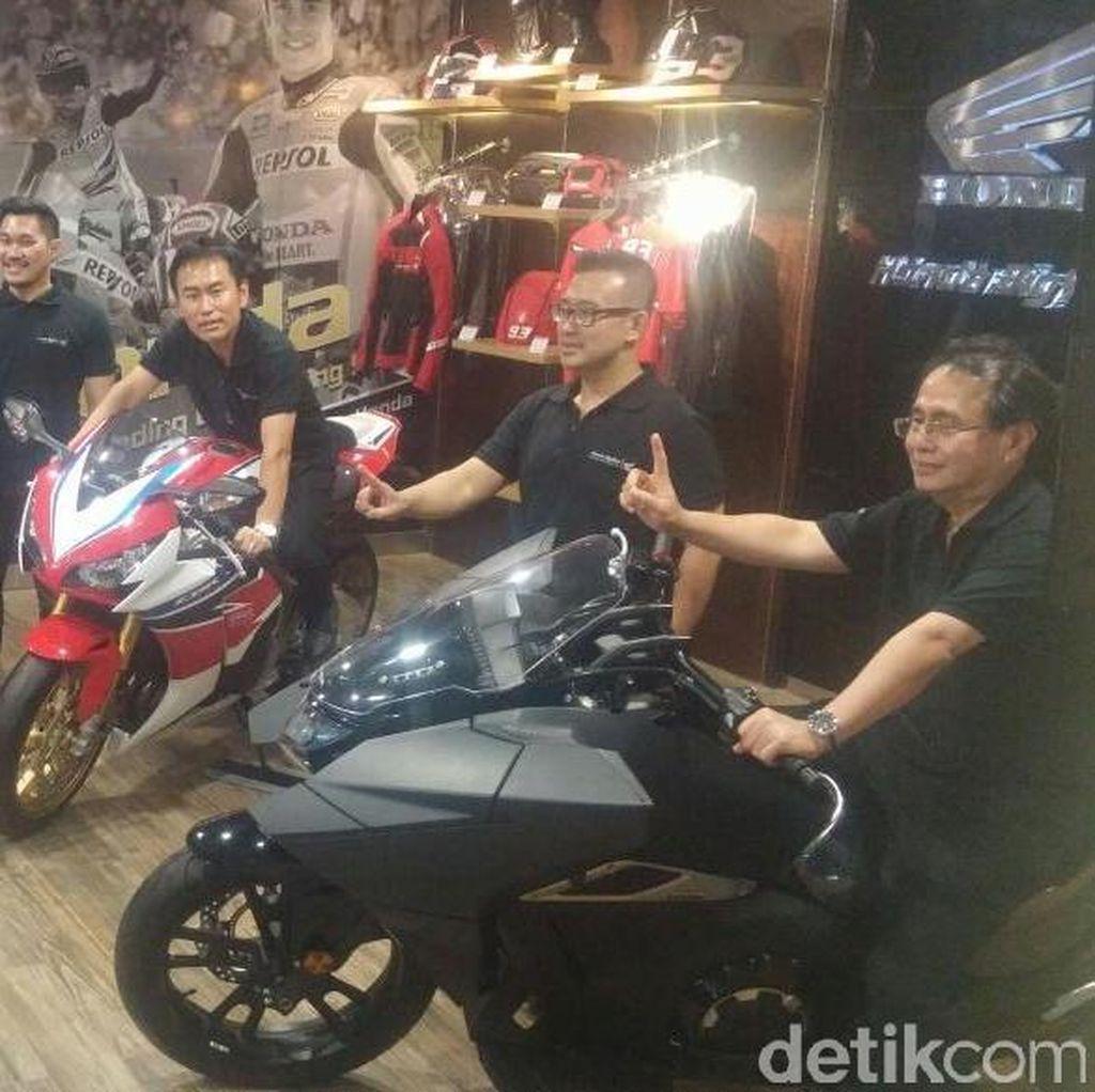 Honda Resmikan Dealer Moge di Makassar