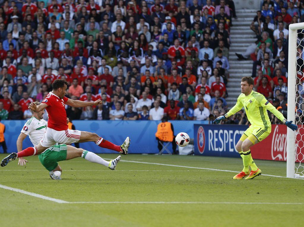 Wales ke Perempatfinal Usai Singkirkan Irlandia Utara