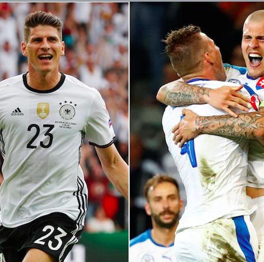 Jerman vs Slovakia, Siapa Lebih Unggul?