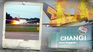 Api Berkobar di Pesawat SQ