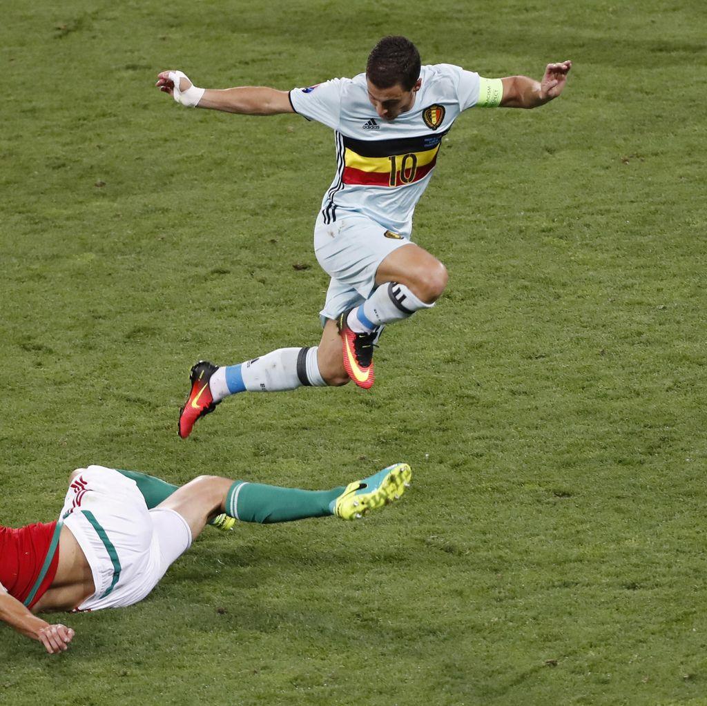 Hantam Hongaria 4-0, Belgia Jumpa Wales di Perempatfinal