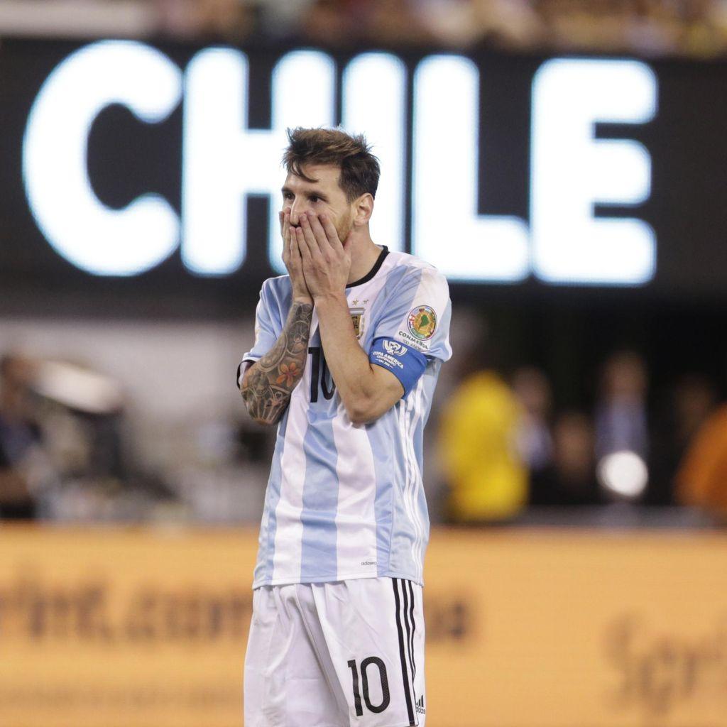 Untuk Tahun Ketiga Secara Beruntun, Argentina Gagal di Final