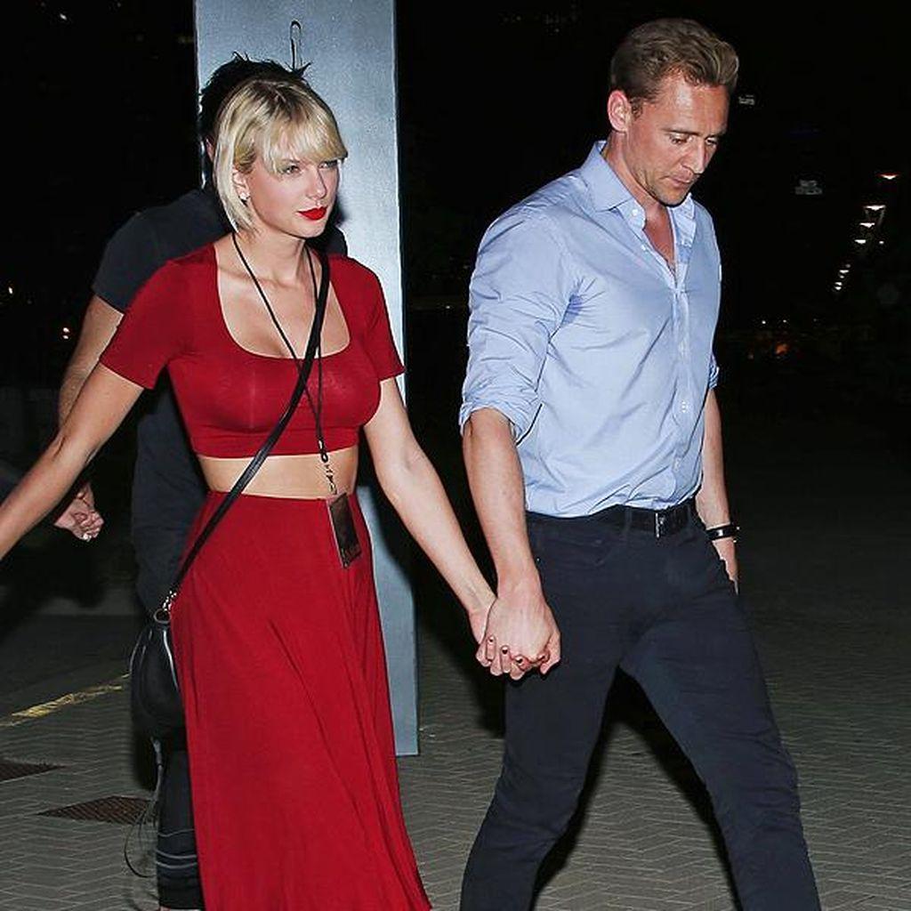 Taylor Swift dan Tom Hiddleston Kembali Pamer Kemesraan di Italia