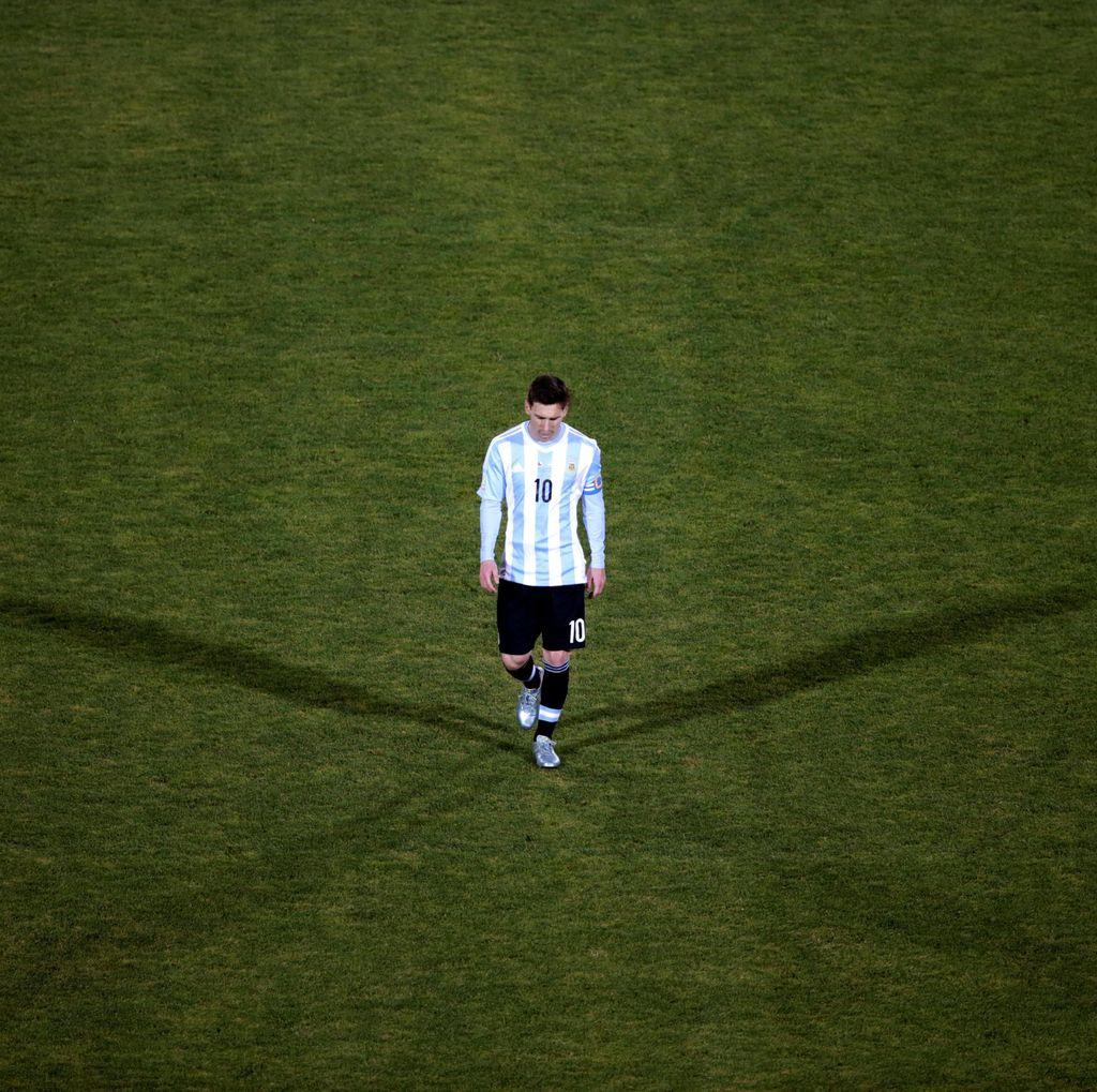 Pengumuman Pensiun dari Messi Bikin Griezmann Bersimpati