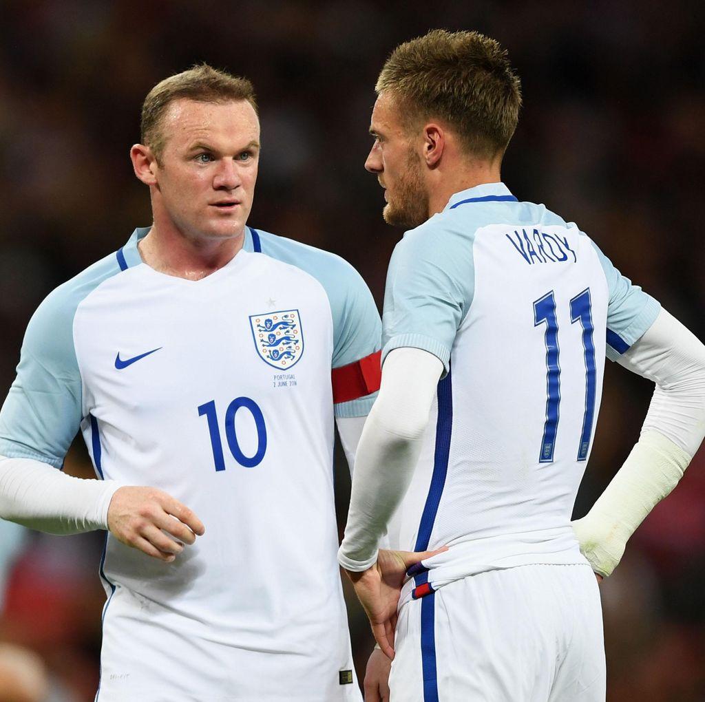Hodgson Bantah Ada Konflik Antara Rooney dan Vardy