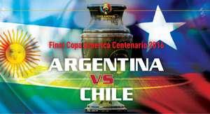 Chile Juara Copa America Centenario