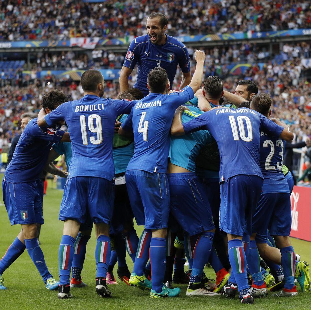 Italia Diprediksi Kalahkan Jerman Lewat Extra Time
