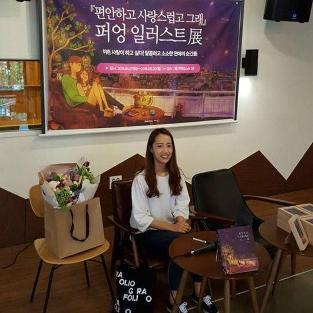 Puung, Si Ilustrator Cinta dari Korea