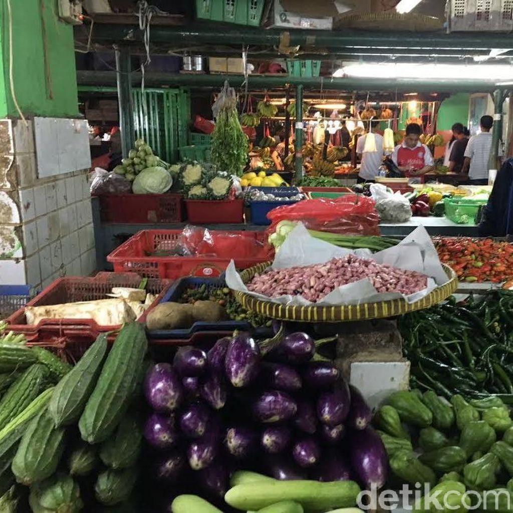 Harga Sayur-Mayur di DKI Merangkak Naik Jelang Lebaran