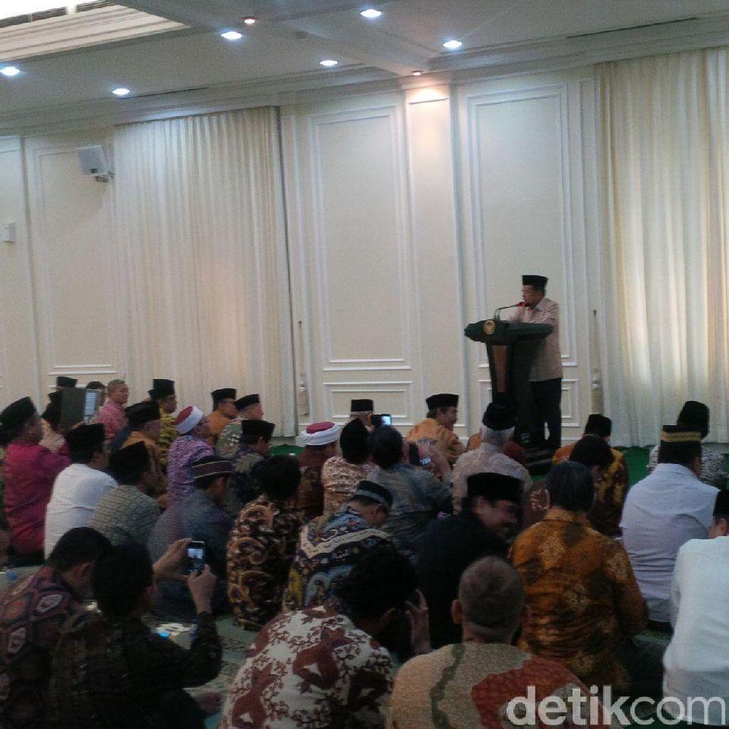 JK: Kita Islam yang Toleran, Lakukan Hal Lain Juga untuk Kemajuan Bangsa