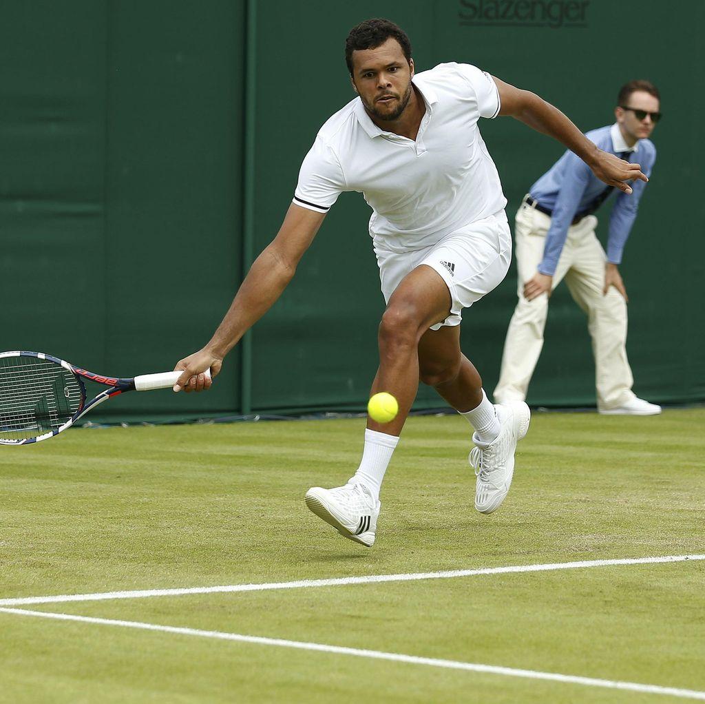 Berlaga di Wimbledon, Tsonga dan Gasquet Tetap Pantau Prancis di Piala Eropa