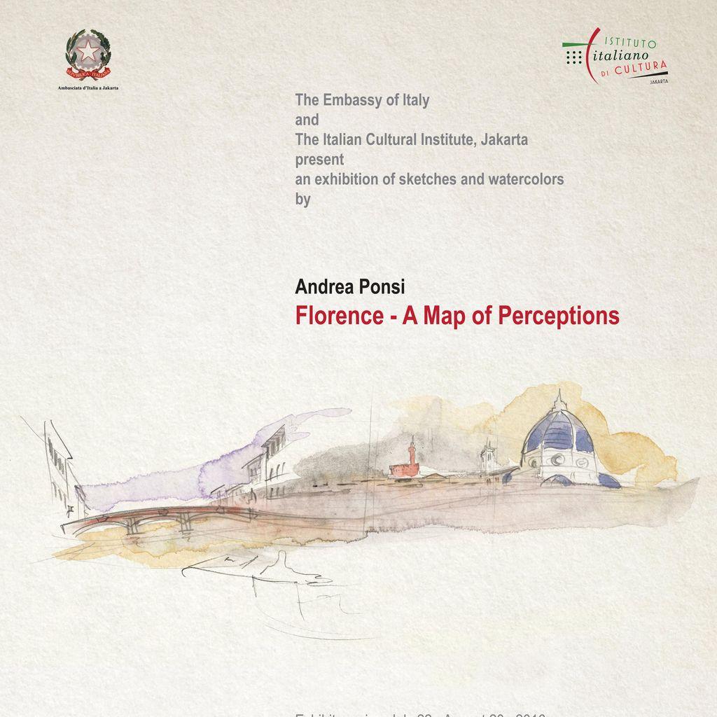 Andrea Ponsi Gelar Pameran Tunggal A Map of Perceptions di Jakarta