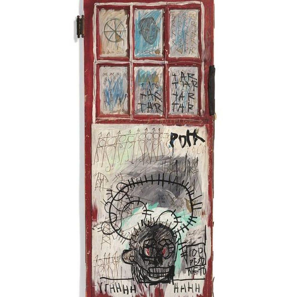 8 Lukisan Basquiat Koleksi Johnny Depp Dilelang