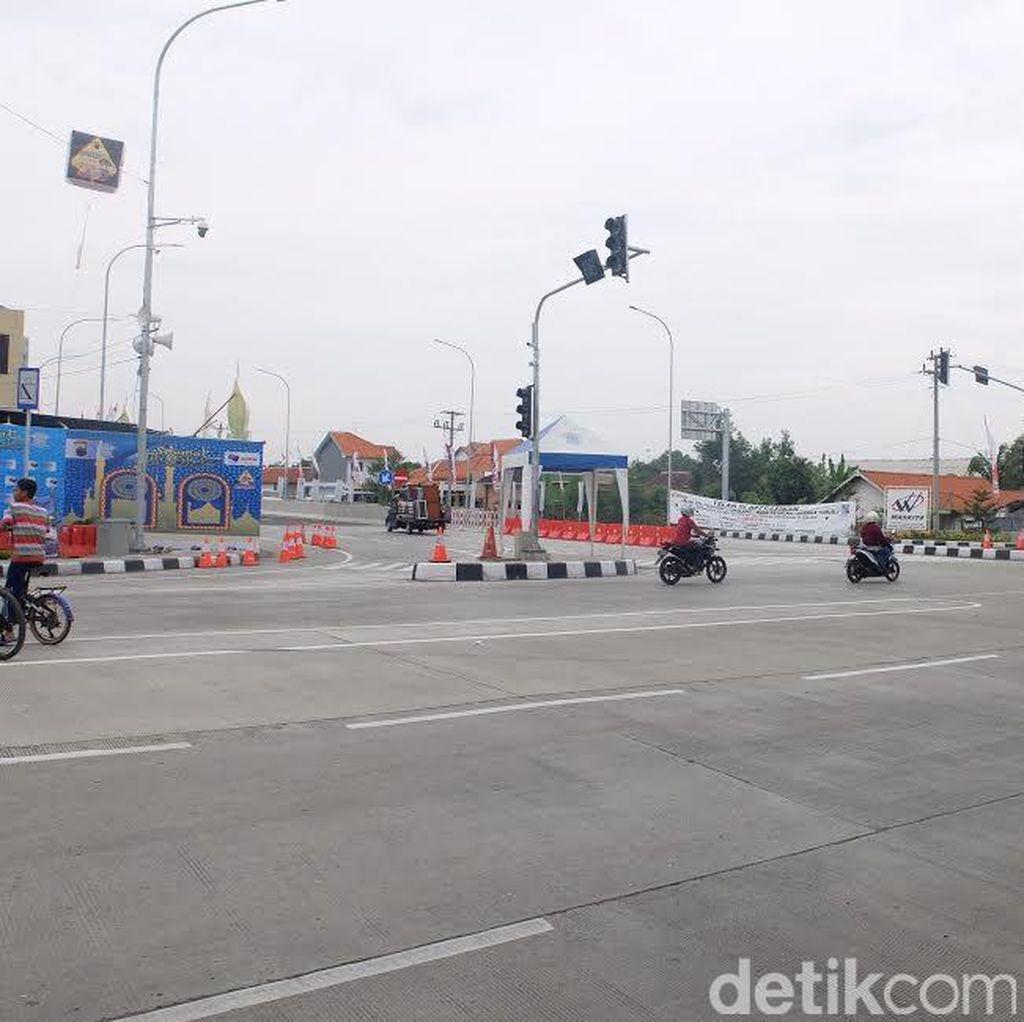 Ada Penyempitan Jalan di Karawang, Pemudik Diimbau Hati-hati