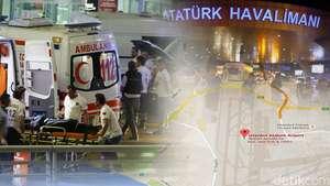 Bom Bunuh Diri di Bandara Turki
