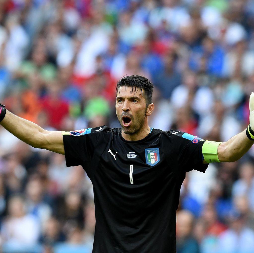 Buffon: Jerman Menakutkan, tapi Italia Pantang Menyerah