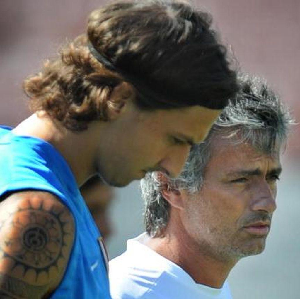 Zlatan yang Rela Mati untuk Mourinho