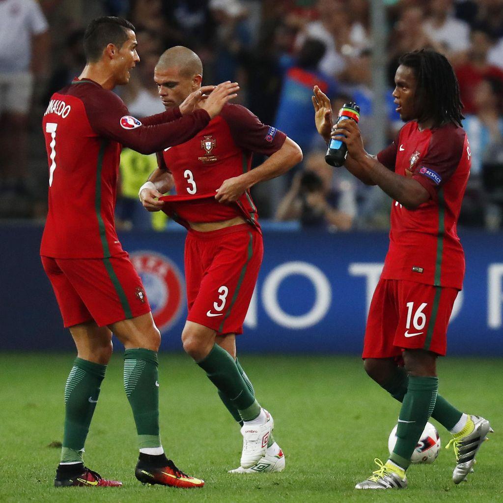 Pujian Khusus Santos untuk Pepe, Ronaldo, dan Renato Sanches