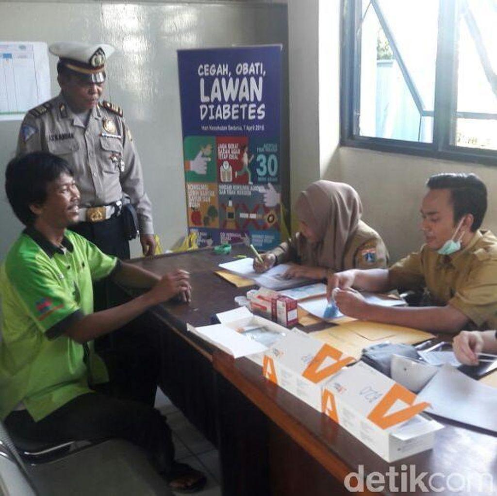 6 Sopir Bus AKAP di Terminal Tanjung Priok Dinyatakan Tak Laik Nyetir