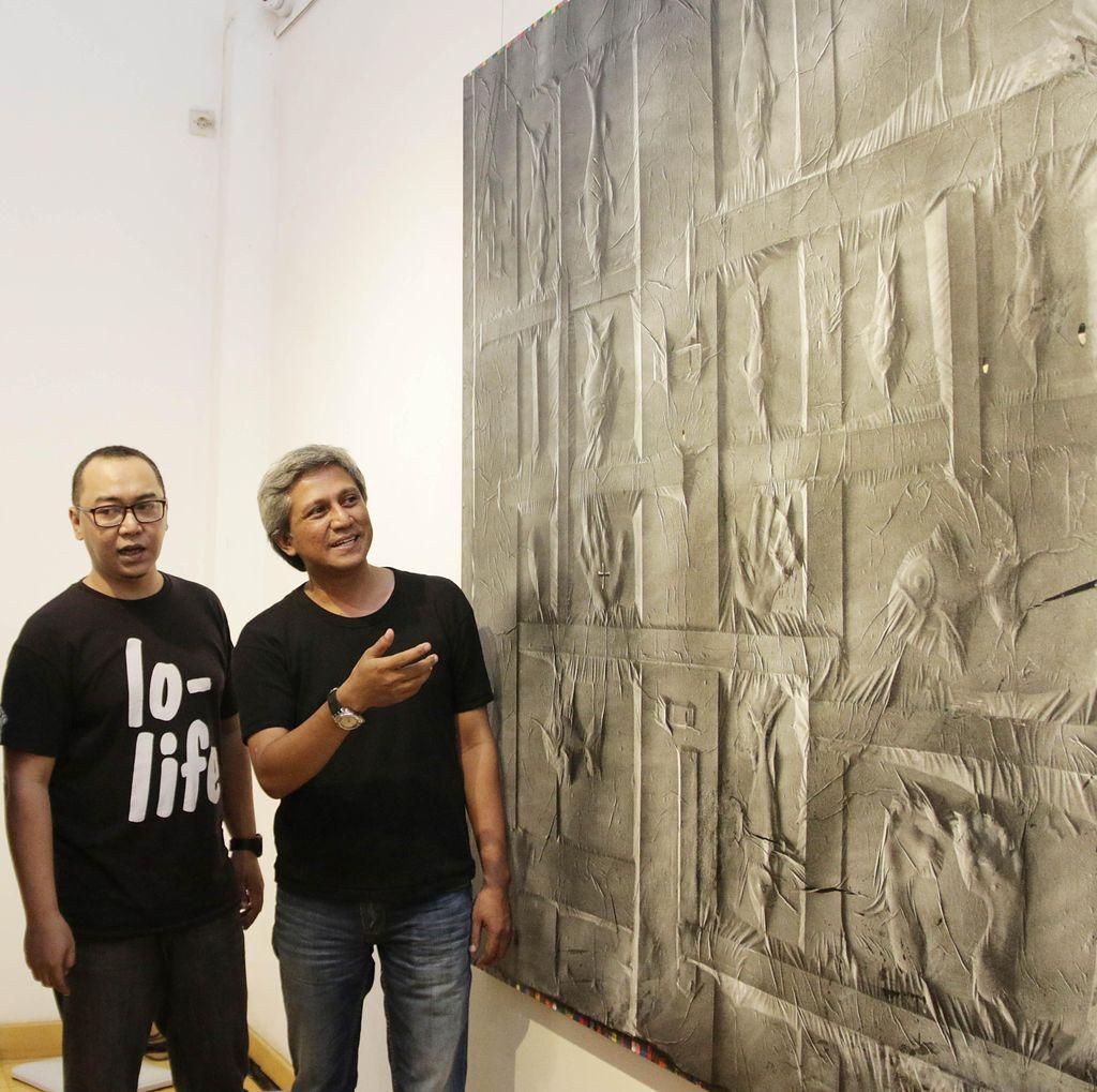 12 Lukisan Karya Kompetisi UOB Dipajang di Roemah Seni Sarasvati