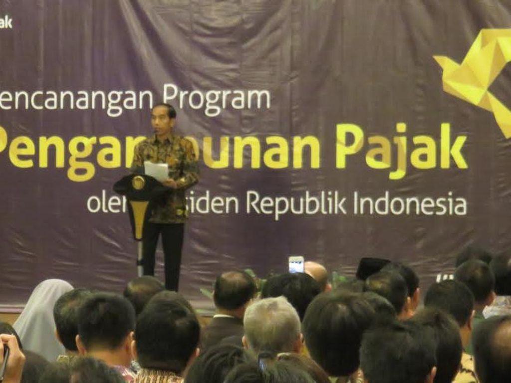 Jokowi: Jangan Main-main dengan Tax Amnesty, Saya Awasi