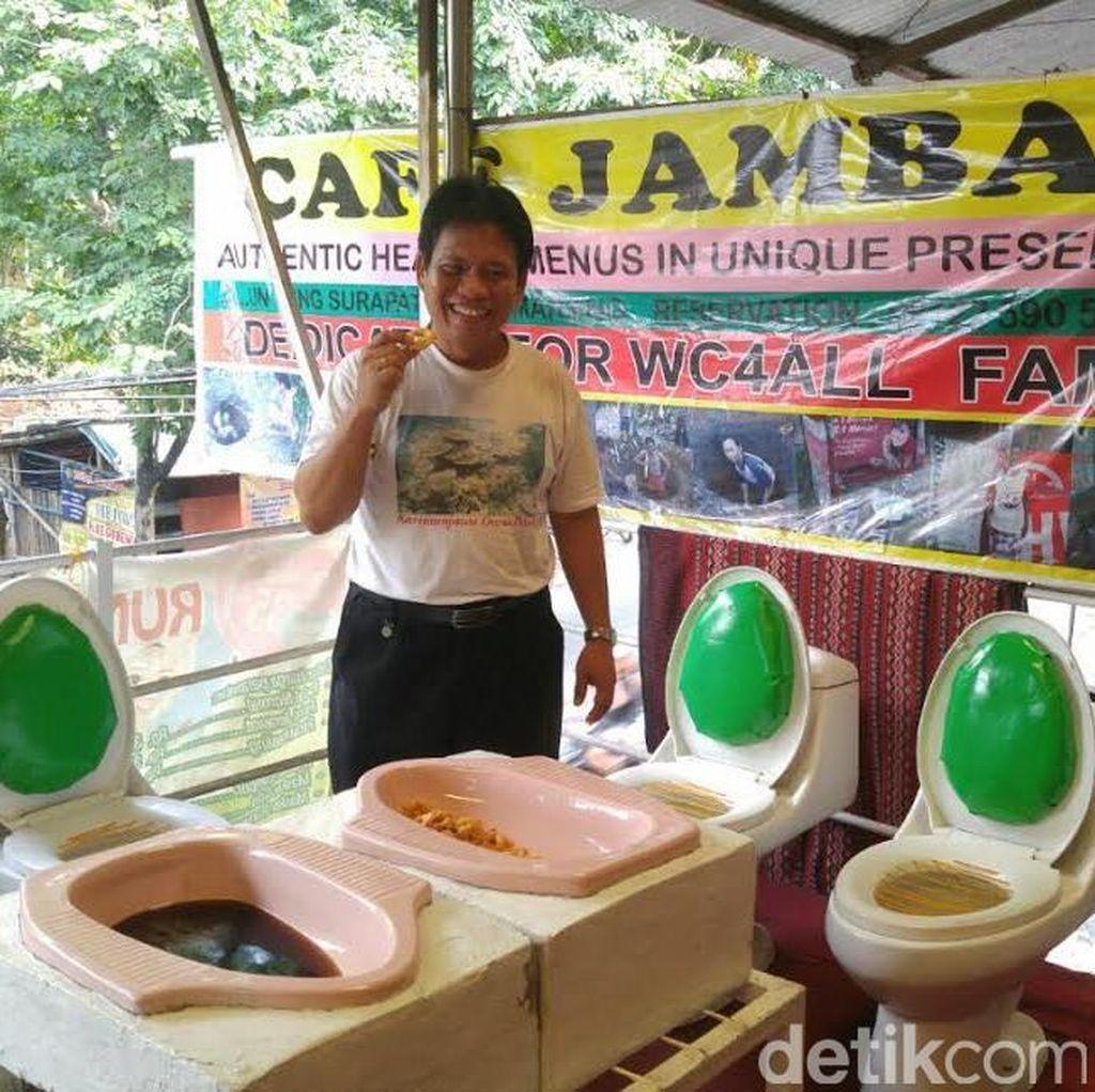 Banyak Cibiran datang ke Kafe Jamban di Semarang, ini Jawaban Pemilik
