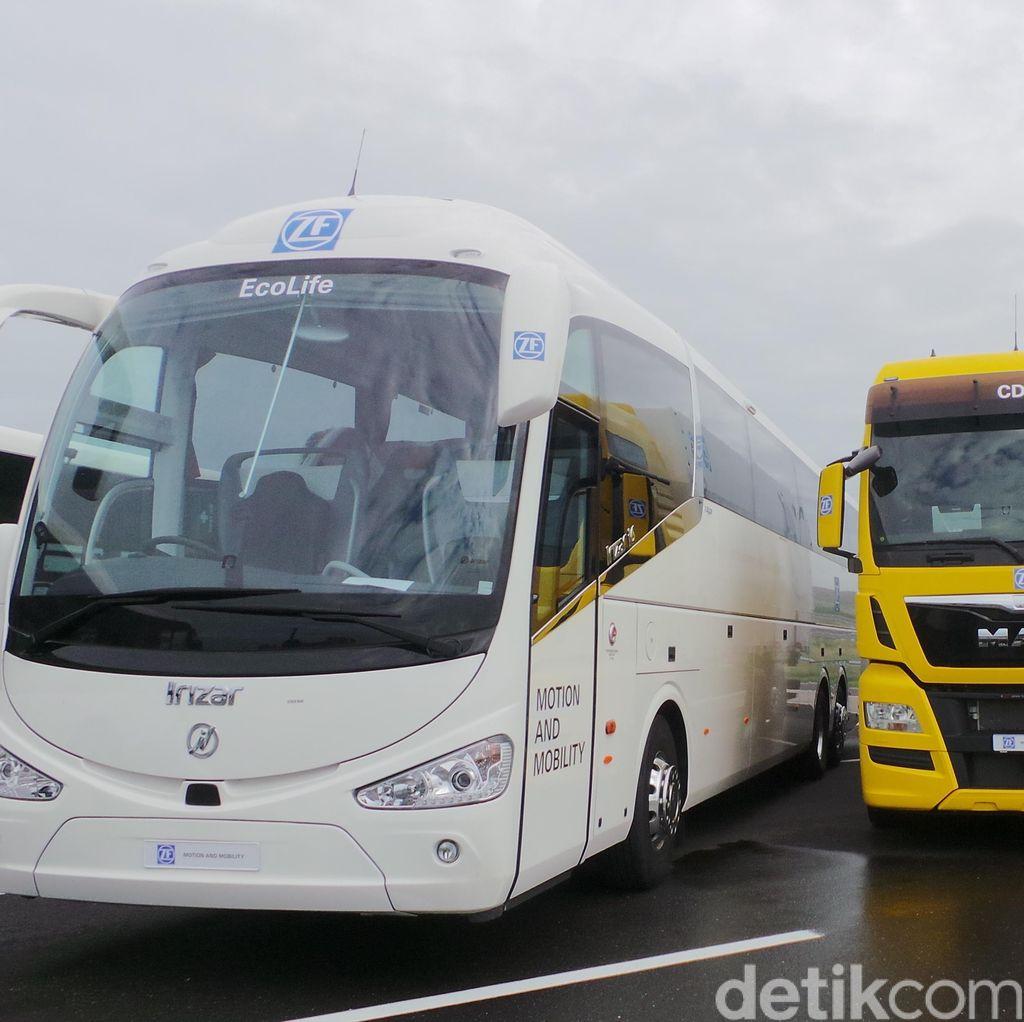 Hemat BBM, Ini Inovasi ZF untuk Bus Kota