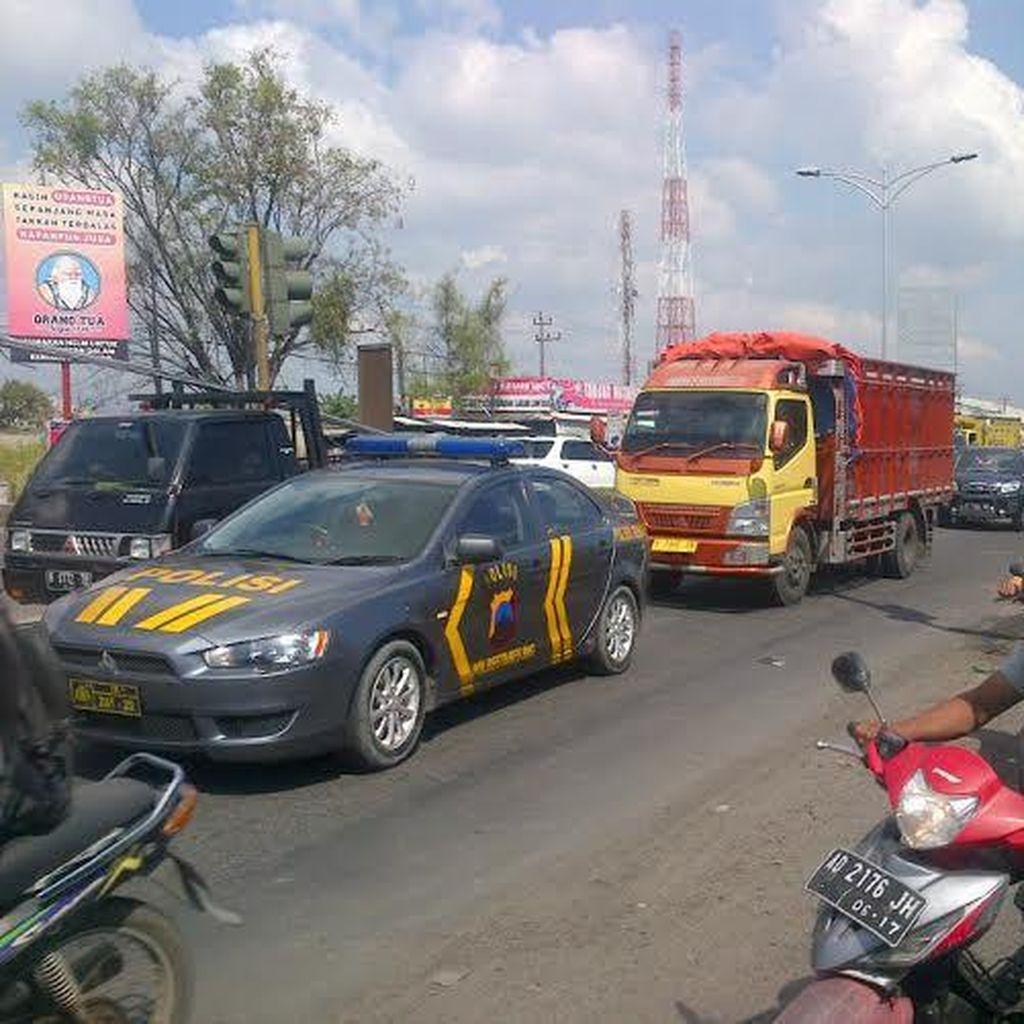 Rob Surut, Pantura Semarang Aman Dilewati Pemudik