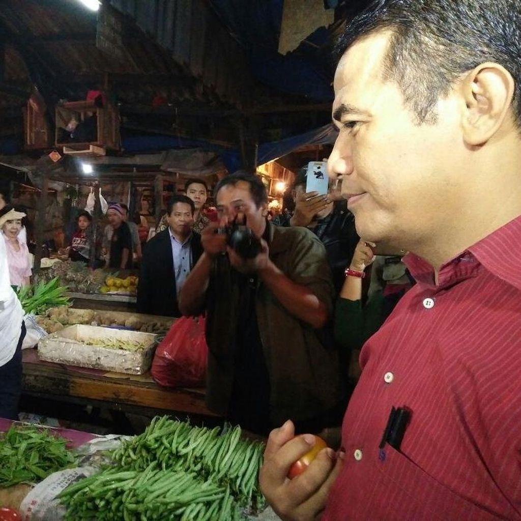 H-5 Mentan Masih Keliling Pasar Cek Harga Daging