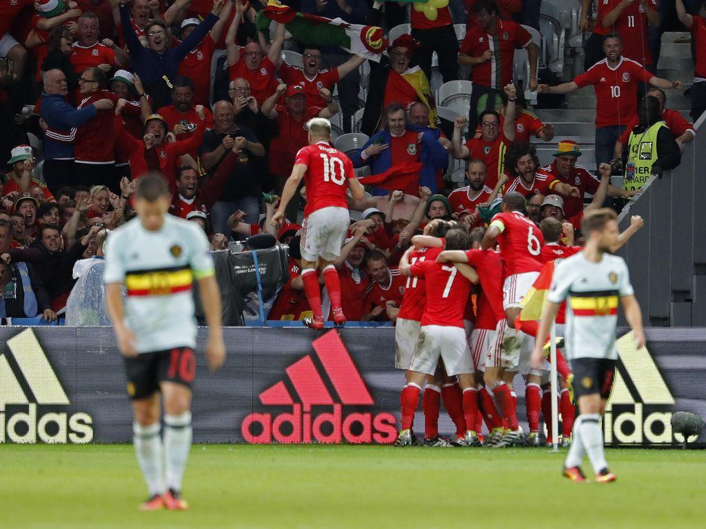 Wales ke Semifinal Usai Kalahkan Belgia 3-1