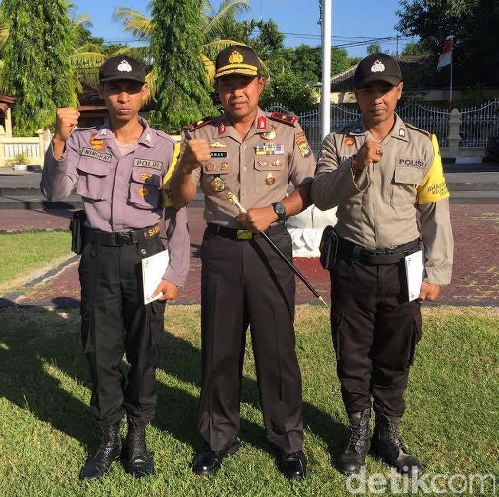 Nekat! Bintara Polisi ini Setop Mobil Kapolda NTB Saat Ada Penyeberang Jalan