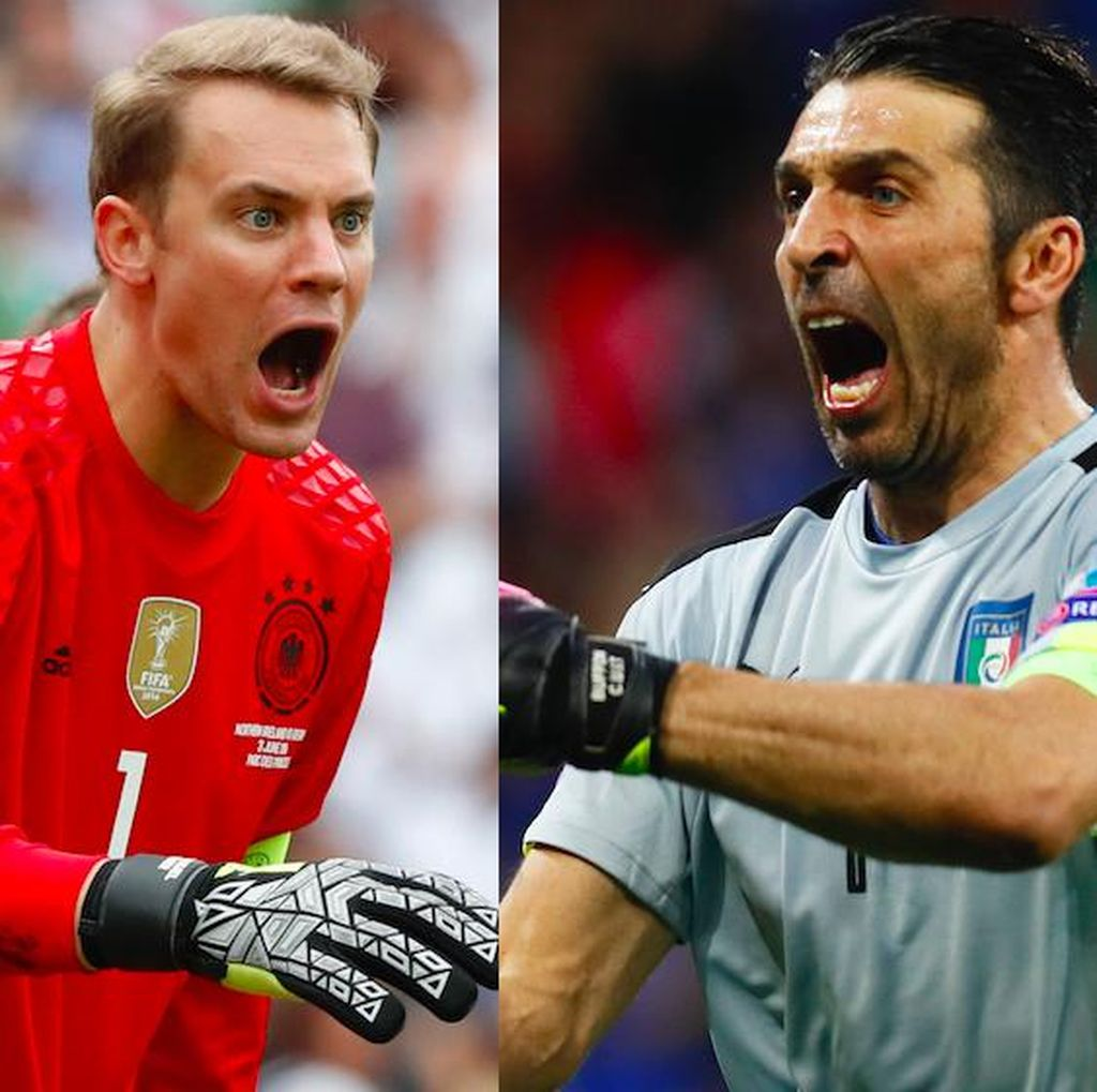 Neuer vs Buffon: Duel Dua Kiper Terhebat Dunia