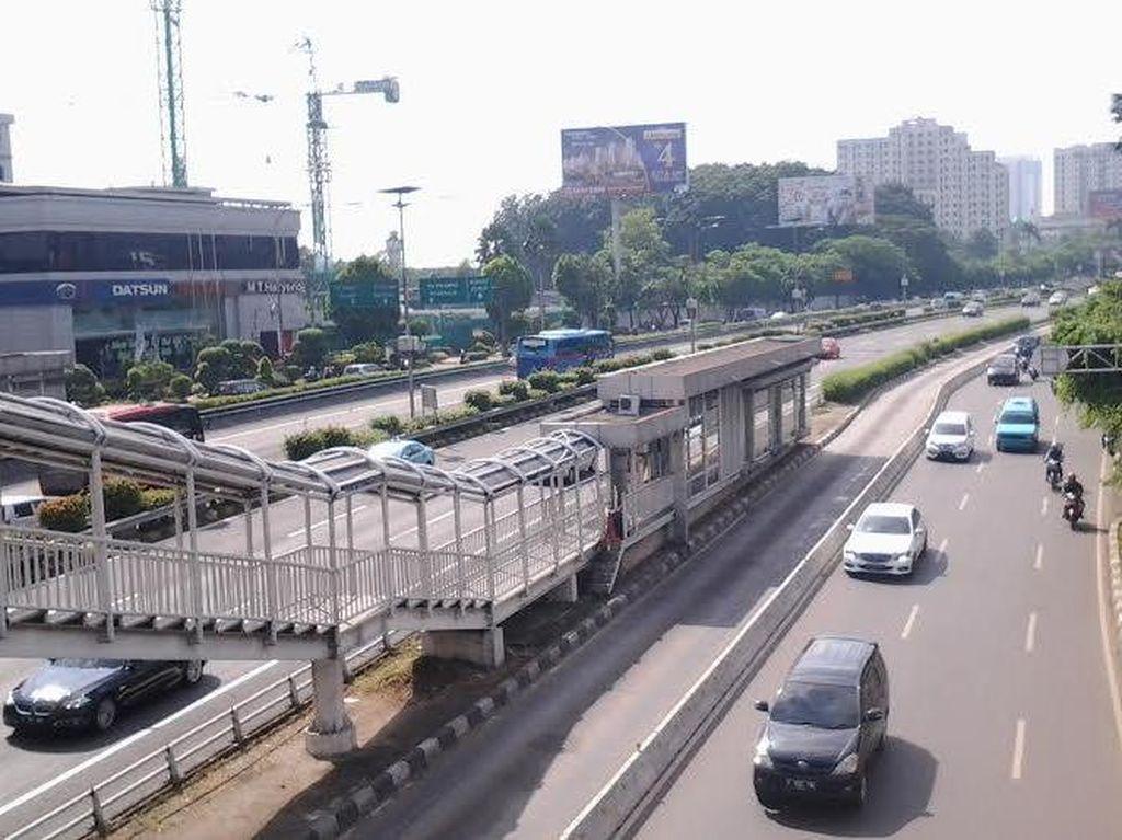 Jakarta Ditinggal Pemudik, Lalu Lintas Dalam Kota Ramai Lancar