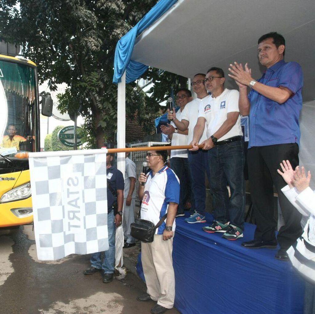 PAN Berangkatkan 1.500 Pemudik Tujuan Lampung Hingga Surabaya