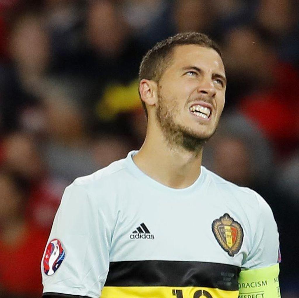 Kecewa Berat, Hazard Juga Minta Belgia Segera Berbenah