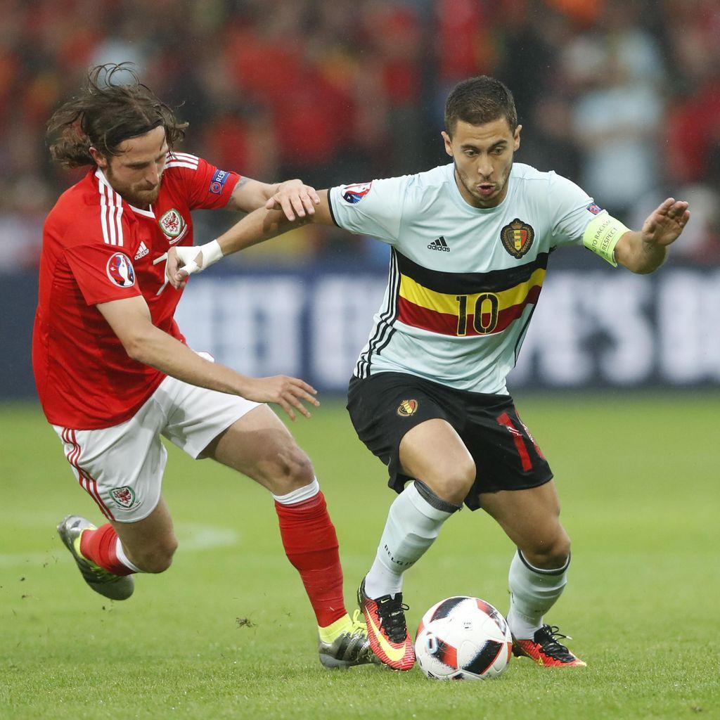 Wales Berbalik Unggul 2-1 atas Belgia
