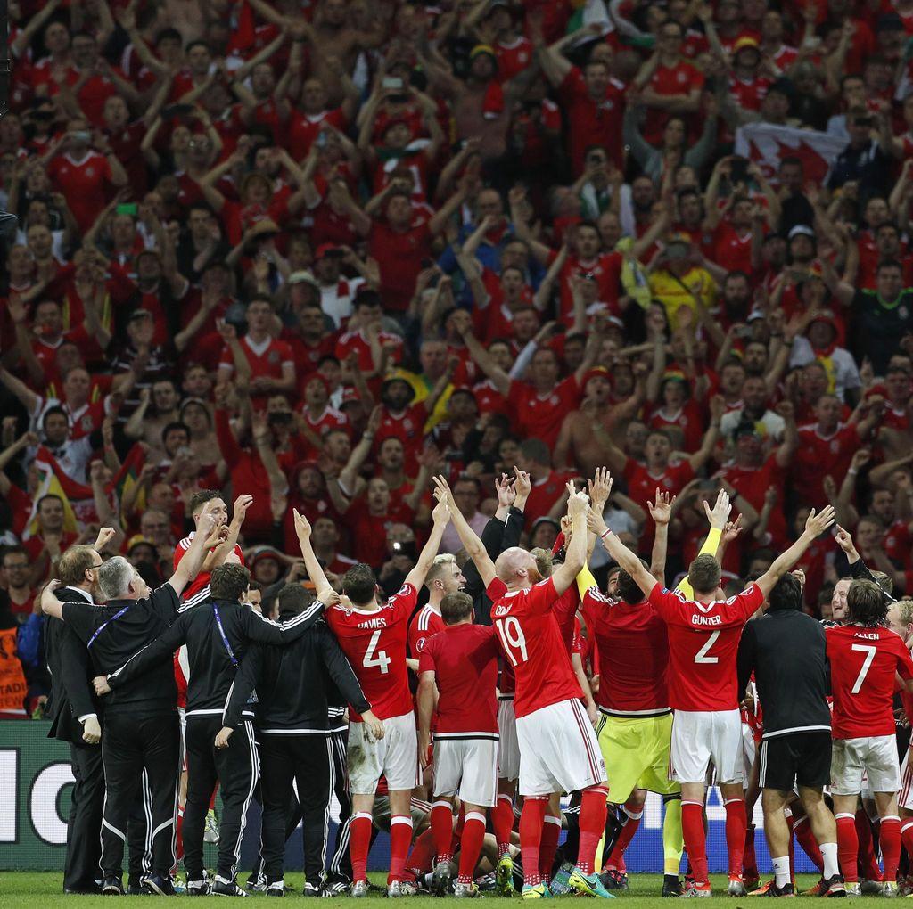 Wales Terus Nikmati Perjalanan dalam Debutnya di Piala Eropa