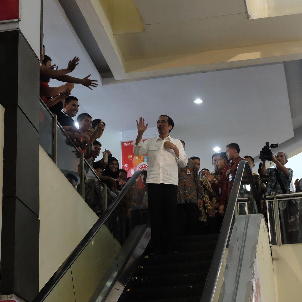 Presiden Jokowi Malam Ini Hadiri Silaturahmi dengan Relawan